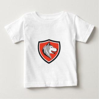 Husky Dog Head Shield Retro Baby T-Shirt