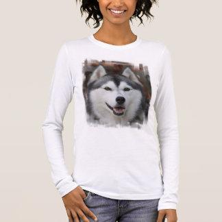 Husky Dog Long Sleeve Shirt