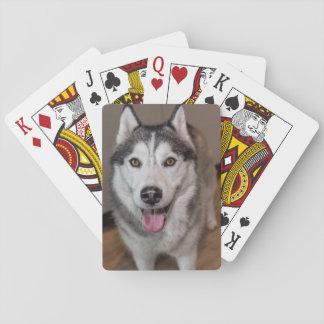 Husky Dog Playing Cards