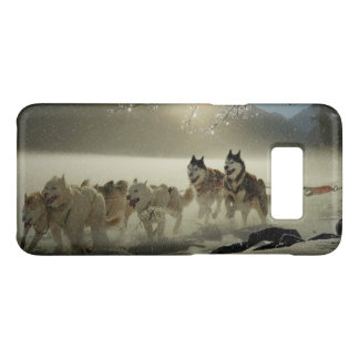 Husky Dog team Sled Dog Race Winter Case-Mate Samsung Galaxy S8 Case