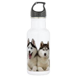 Husky Dogs 532 Ml Water Bottle