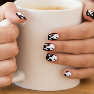 Husky Fingernails Cool Husky Pup Decor Minx Nail Art