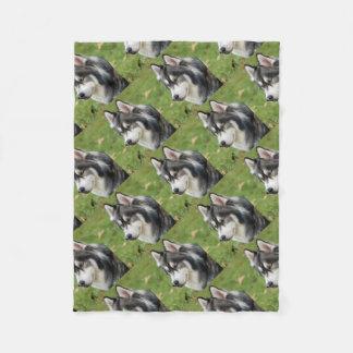 Husky Fleece Blanket