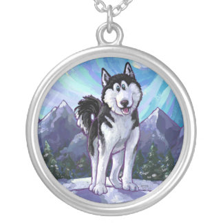 Husky Gifts & Accessories Round Pendant Necklace