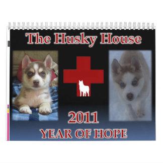 Husky House 2011 Calendar