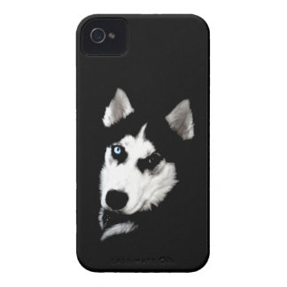 Husky iPhone Case with CC Holder