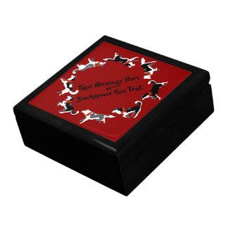 Husky Jewelry Box Christmas Siberian Husky Dog Box