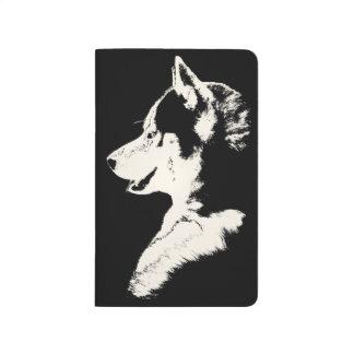 Husky Journal Custom Siberian Husky Notebook Gifts