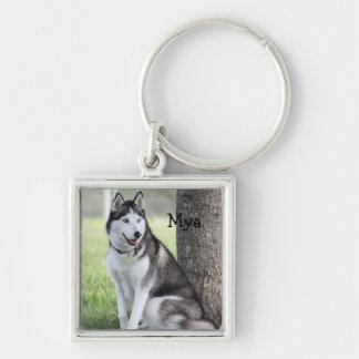 Husky Key Chain