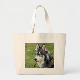 Husky Large Tote Bag