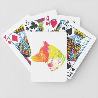 HUSKY Love Bicycle Playing Cards