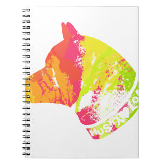 HUSKY Love Spiral Notebook