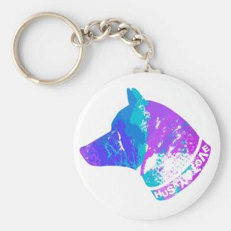 HUSKY Love (Violet) Keychain