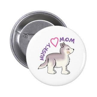 HUSKY MOM PINS