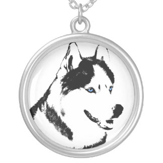 Husky Necklace Siberian Husky Malamute Necklaces