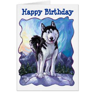 Husky Party Center Card