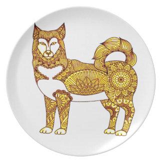 Husky Plates