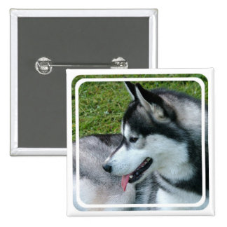 Husky Profile  Pin