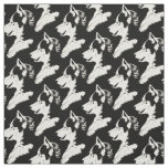 Husky Pup Fabric Siberian Husky Fabric Dog Pattern