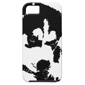 Husky Pup With Attitude iPhone 5 Cases