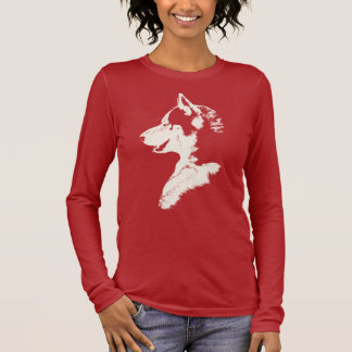 Husky Shirt Women's Husky Pup Tee Shirts & Gifts