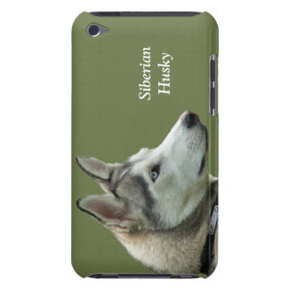 Husky Siberian dog photo custom ipod touch case