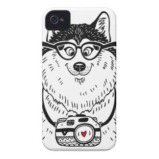 Husky Smile iPhone 4 Case