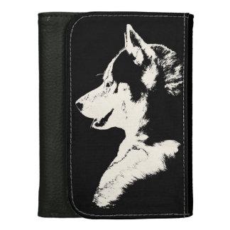 Husky Wallet Siberian Husky Malamute Wallet