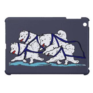 Huskytoons Samoyed Team iPad Mini Cover