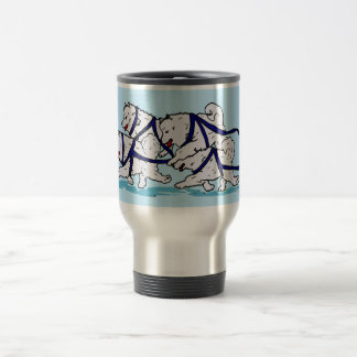Huskytoons Samoyed Team Travel Mug