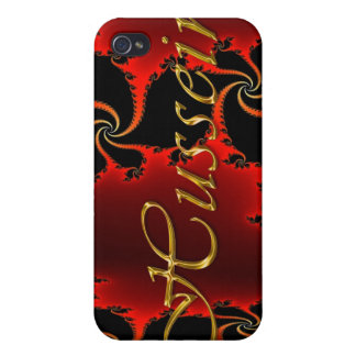 HUSSEIN Name Branded iPhone Cover Covers For iPhone 4