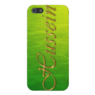HUSSEIN Name Branded iPhone Cover iPhone 5/5S Case