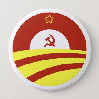 Hussein Obama says: Spread The Wealth 4 Inch Round Button