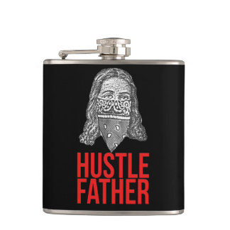 Hustle father hip flask
