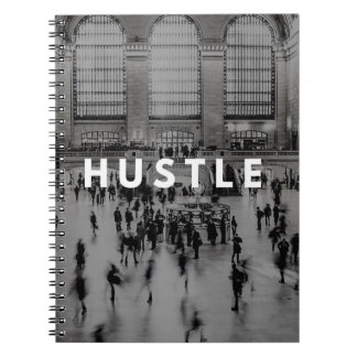 Hustle Grand Central Notepad Spiral Notebooks