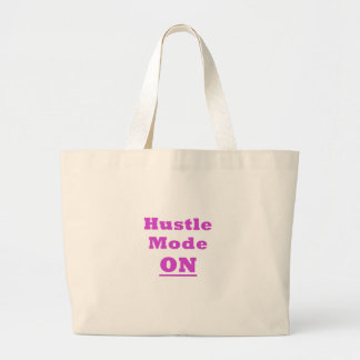 Hustle Mode On Jumbo Tote Bag