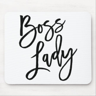 Hustle Trendy Lettering Mouse Pad