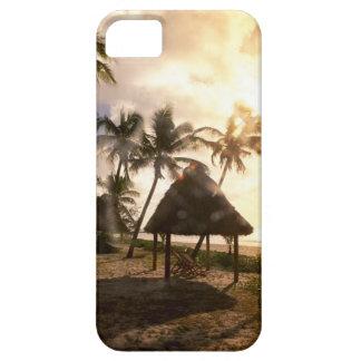 Hut On Beach iPhone 5 Case