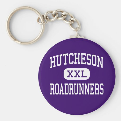 Hutcheson - Roadrunners - Junior - Arlington Texas Key Chains