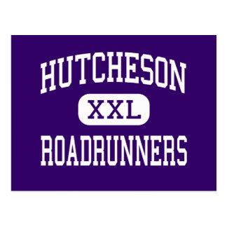 Hutcheson - Roadrunners - Junior - Arlington Texas Postcard
