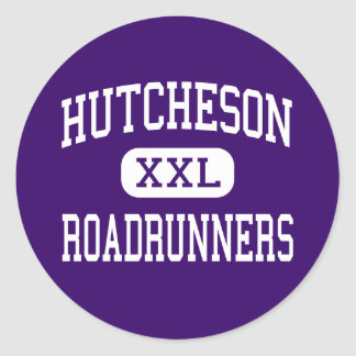 Hutcheson - Roadrunners - Junior - Arlington Texas Round Stickers