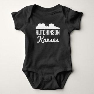 Hutchinson Kansas Skyline Baby Bodysuit