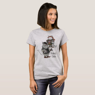 Hutsul Cats Ukrainian Folk Art T-Shirt