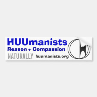 HUUmanists Bumper Sticker