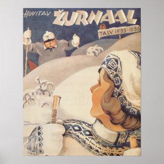 Huvitav Zurnaal Poster