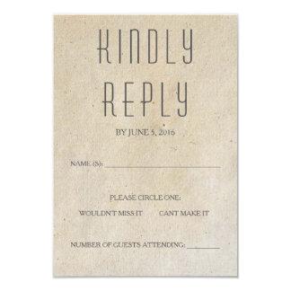 Huxley Modern RSVP Card