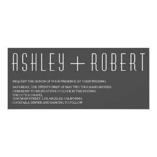 Huxley Modern Wedding Invitation