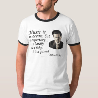 Huxley on Music and Water T-Shirt