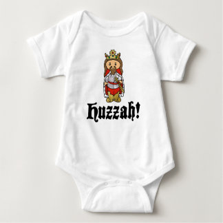 HUZZAH! King Arthur baby bodysuit t shirt