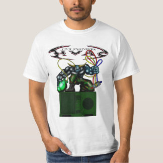 HVAC Bull on FDECU T-Shirt